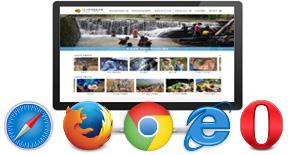 다양한 웹브라우저/운영체계 대응